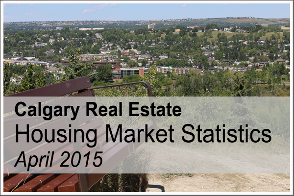 Calgary Realt Estate Housing Market Stats - April 2015