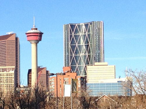 Downtown Calgary, AB: Calgary Tower