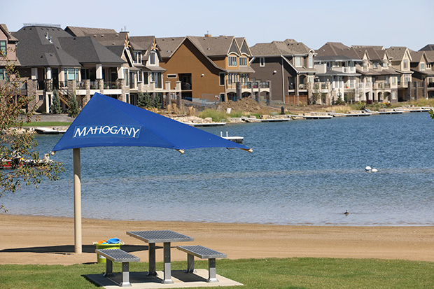 Mahogany lake community in Calgary is a perfect place for your family