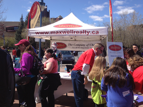 MaxWell South Star tent at Walk So Kids Can Talk