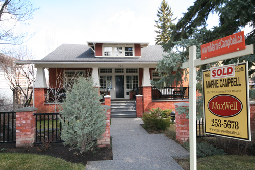 MaxWell Realty, Marnie Campbell sold property in Calgary, AB