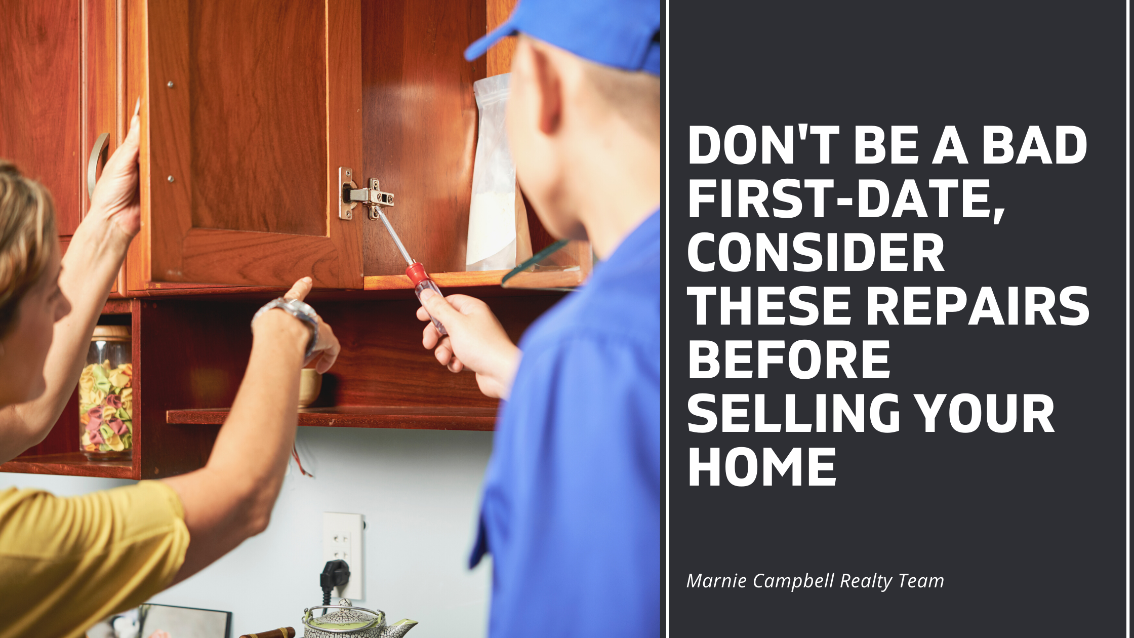 Don't Be A Bad First-Date, Consider These Repairs Before Selling Your Home