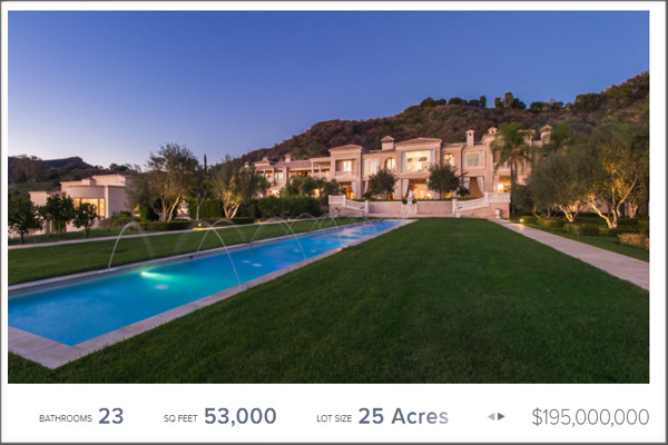 $195 million real estate property